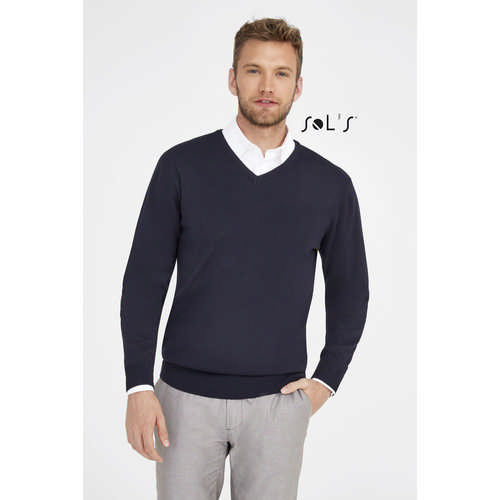 Galaxy Mens - V-neck Sweater - (printed with 4 colour(s)) S90000_ORSO_DEC