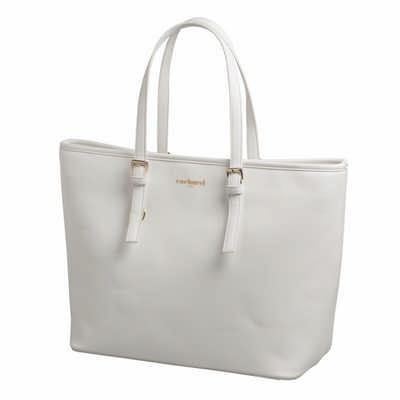 Cacharel Shopping Bag Bagatelle Blanc CTS636F_ORSO_DEC