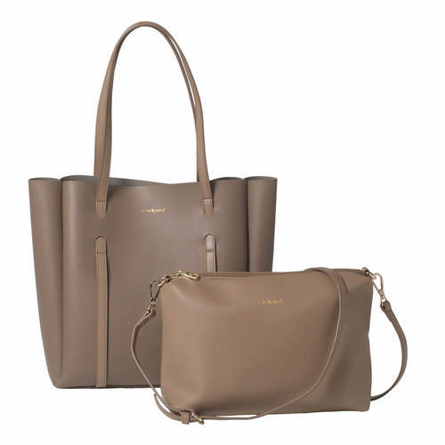 Cacharel Shopping Bag Montmartre Taupe - (printed with 1 colour(s)) CTS936X_ORSO_DEC