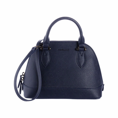 Cacharel Bowling Bag Small Hortense Navy - (printed with 1 colour(s)) CTW034N_ORSO_DEC