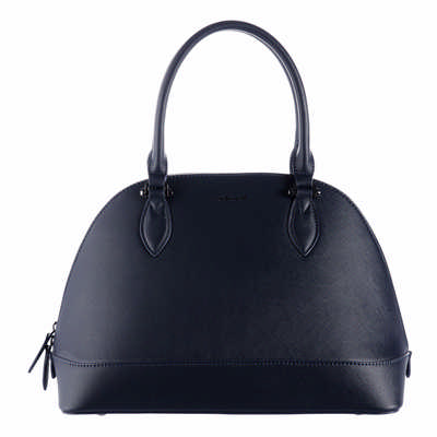 Cacharel Bowling Bag Large Hortense Navy - (printed with 1 colour(s)) CTX034N_ORSO_DEC