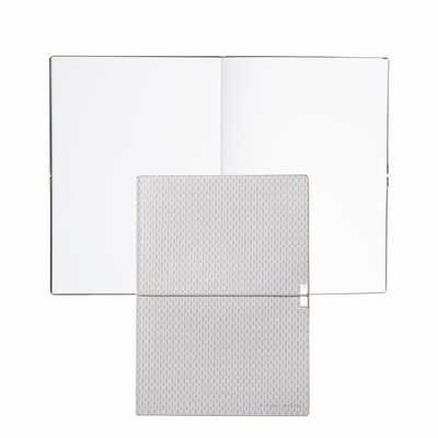 Hugo Boss Note Pad A5 Storyline Epitome Light Grey HNH901K_ORSO_DEC
