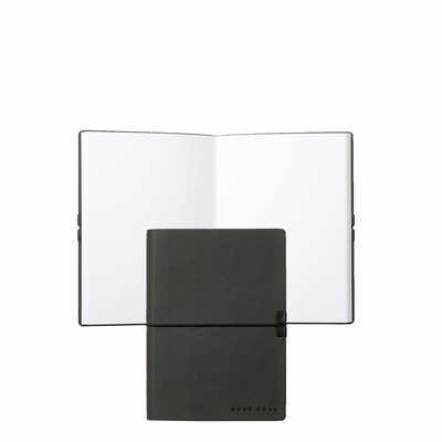 Hugo Boss Note Pad A6 Storyline Dark Grey - (printed with 1 colour(s)) HNM704J_ORSO_DEC