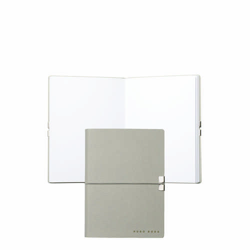 Hugo Boss Note Pad A6 Storyline Light Grey - (printed with 1 colour(s)) HNM704K_ORSO_DEC