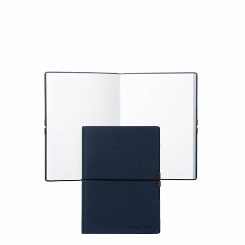 Hugo Boss Note Pad A6 Storyline Bright Blue - (printed with 1 colour(s)) HNM704L_ORSO_DEC