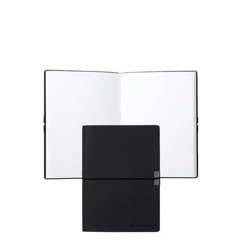 Hugo Boss Note Pad A6 Storyline Dark Blue - (printed with 1 colour(s)) HNM704N_ORSO_DEC
