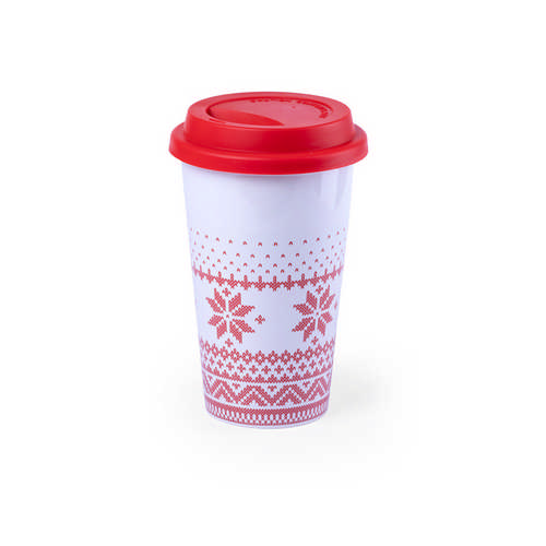 Cup Helfox - (printed with 1 colour(s)) M6289_ORSO_DEC