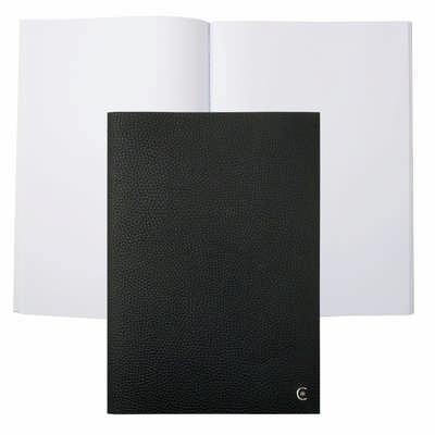 Cerruti 1881 Note Pad A4 Hamilton Black - (printed with 1 colour(s)) NNF711A_ORSO_DEC