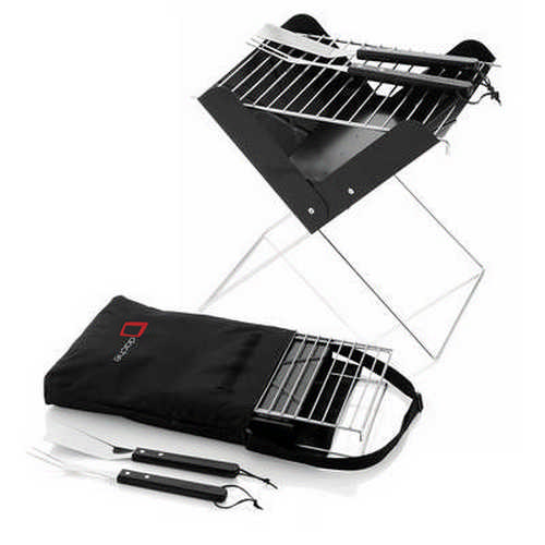 Foldable BBQ set - (printed with 1 colour(s)) G1498_ORSO_DEC