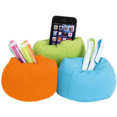 Beanbag Desk Caddy - (printed with 1 colour(s)) G1679_ORSO_DEC