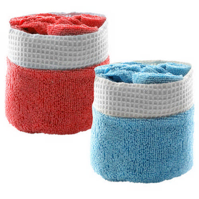 Absorbent Towel Set Tekla - (printed with 4 colour(s)) M4005_ORSO_DEC