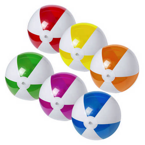 Beach Ball Zeusty - (printed with 1 colour(s)) M5617_ORSO_DEC