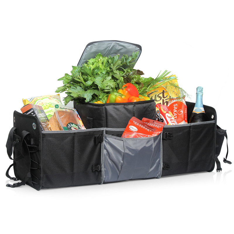 Car Boot Organiser Removable Insulated Cooler - (printed with 1 colour(s)) L463_GL_DEC