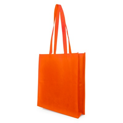 Non Woven Bag - w/gusset - (printed with 1 colour(s)) NWB05-OR_GL_DEC
