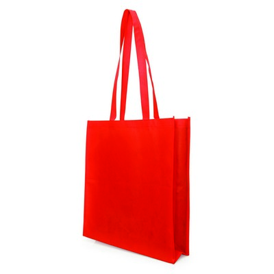 Non Woven Bag - w/gusset - (printed with 1 colour(s)) NWB05-RE_GL_DEC