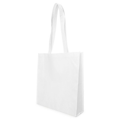 Non Woven Bag - w/gusset - (printed with 1 colour(s)) NWB05-WH_GL_DEC