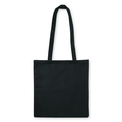 Non Woven Bag - w/V shaped gusset - (printed with 1 colour(s)) NWB15-BK_GL_DEC