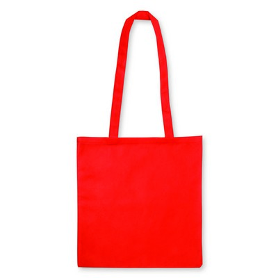 Non Woven Bag - w/V shaped gusset - (printed with 1 colour(s)) NWB15-RE_GL_DEC