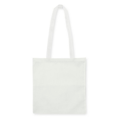 Non Woven Bag - w/V shaped gusset - (printed with 1 colour(s)) NWB15-WH_GL_DEC