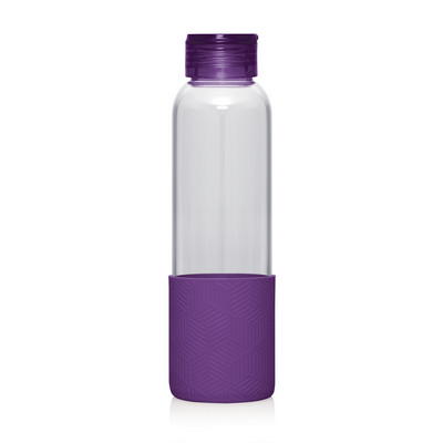 Bottle Glass 600ml - (printed with 1 colour(s)) M267_GL_DEC