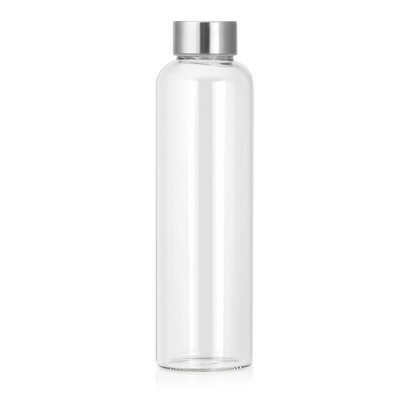 Bottle Glass 600ml - (printed with 1 colour(s)) M282_GL_DEC