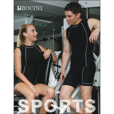 Performance Wear - Mens Cropped Bike Shorts CK931_BOC