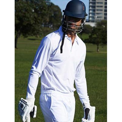 Unisex Adults Long Sleeve Cricket Polo CP1213_BOC