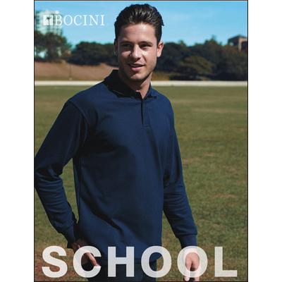 Kids Long Sleeve Basic Polo CP1316_BOC