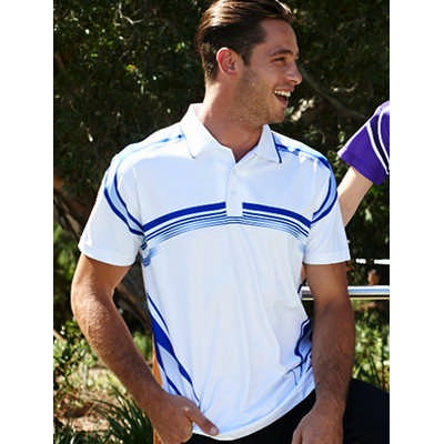 Unisex Adults Sublimated Gradated Polo CP1447_BOC