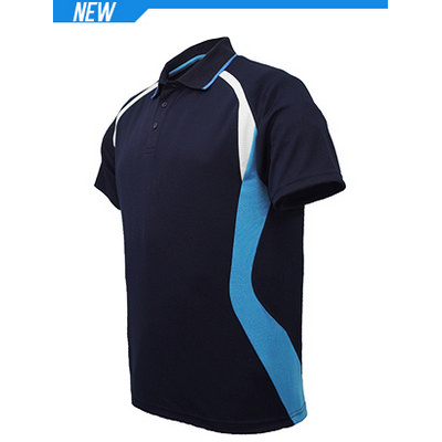 Unisex Adults Sports Panel Polo CP1528_BOC