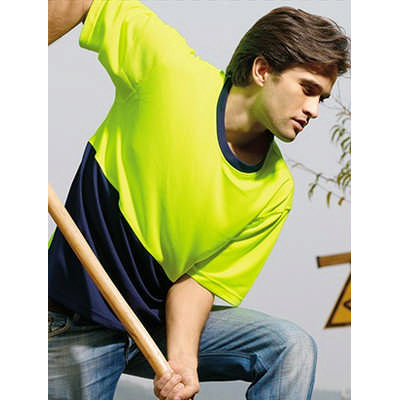 Unisex Adults Hi-vis Safety Tee ST0691_BOC