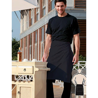 Polyester Drill Half Apron - With Pocket WA0604_BOC