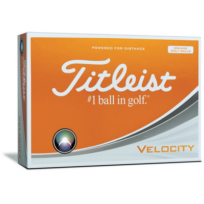 Titleist Velocity - Sleeves Orange - (printed with 1 colour(s)) T8023SNPO_PPI