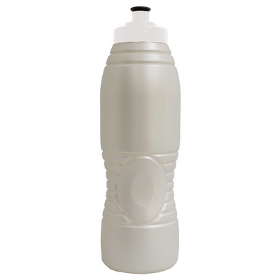Bullet Drink Bottle 750ml Pearl White Bio-degradable M2 - (printed with 1 colour(s)) BOTTBULLBIN_PPI