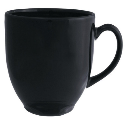Broadway Mug Gloss Black - (printed with 1 colour(s)) MUGSBROD002_PPI