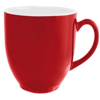 Broadway Mug Glosss Redwhite - (printed with 1 colour(s)) MUGSBROD401_PPI