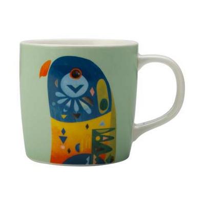 Maxwell & Williams Pete Cromer Mug 375ml Lorikeet Gift Boxed - (printed with 1 colour(s)) DI0218_PPI