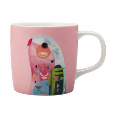 Maxwell & Williams Pete Cromer Mug 375ml Parrot Gift Boxed - (printed with 1 colour(s)) DI0220_PPI