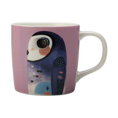 Maxwell & Williams Pete Cromer Mug 375ml Owl Gift Boxed - (printed with 1 colour(s)) DI0221_PPI