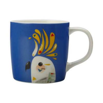 Maxwell & Williams Pete Cromer Mug 375ml Cockatoo Gift Boxed - (printed with 1 colour(s)) DI0223_PPI