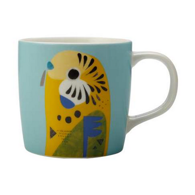 Maxwell & Williams Pete Cromer Mug 375ml Budgerigar Gift Boxed - (printed with 1 colour(s)) DI0224_PPI