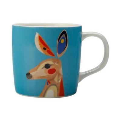 Maxwell & Williams Pete Cromer Mug 375ml Kangaroo Gift Boxed - (printed with 1 colour(s)) DI0226_PPI
