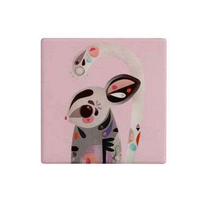M&W Pete Cromer Ceramic Square TileCoaster 9.5cm SugarGlider DU0090_PPI