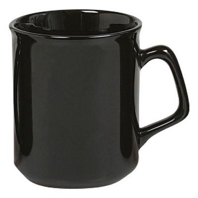 Flared Mug Gloss Black - (printed with 1 colour(s)) MUGSFLRE002_PPI