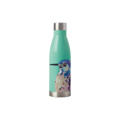 Pete Cromer Double Wall Insulated Bottle 500ml Azure Kingfis - (printed with 1 colour(s)) JR0001_PPI