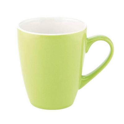 Madrid Mug Gloss Lime Green  White - (printed with 1 colour(s)) MUGSMADR162_PPI