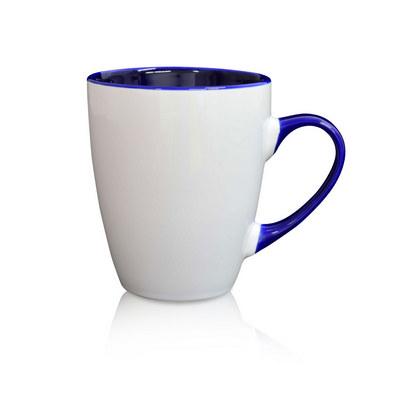 Madrid Mug White  Cobalt - (printed with 1 colour(s)) MUGSMADR103_PPI