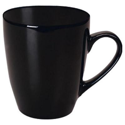 Madrid Mug Gloss Black - (printed with 1 colour(s)) MUGSMADR002_PPI