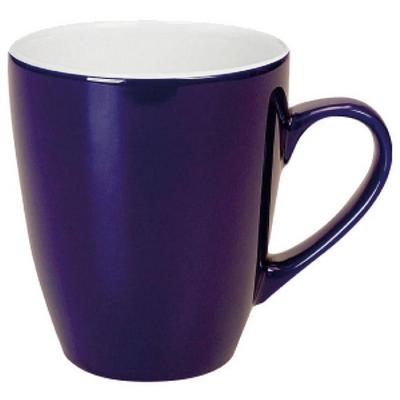 Madrid Mug Gloss Cobalt  White - (printed with 1 colour(s)) MUGSMADR301_PPI