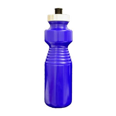 Ergonomic Drink Bottle 750ml Reflex Blue - (printed with 1 colour(s)) BOTTERGOL05_PPI